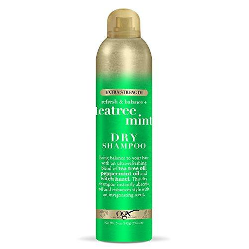 OGX Refresh & Balance + Tea Tree Mint Dry Shampoo, 5 Ounce