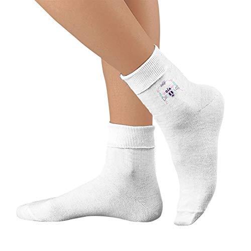 Shanghao Hay Senores Dia Delode Muertos Unisex Baumwolle Crew Socken Casual Strumpf