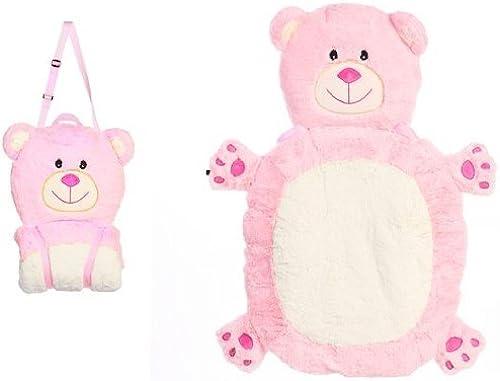 Rosa Bear Mat-N-Bag by JoJo