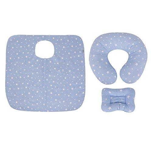 Sevibaby - Kit d'allaitement en 3 pièces - Blue Star
