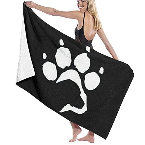 asdew987 Labrador Retriever - Toalla de playa para perro (80 x 130 cm)
