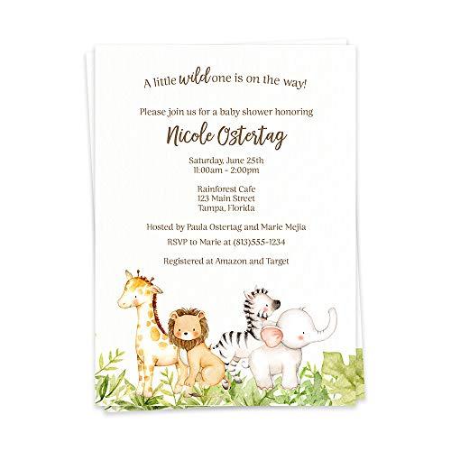 custom baby shower invitations - 3