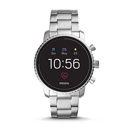 Fossil Herren Digital Smart Watch Armbanduhr mit Edelstahl Armband FTW4011