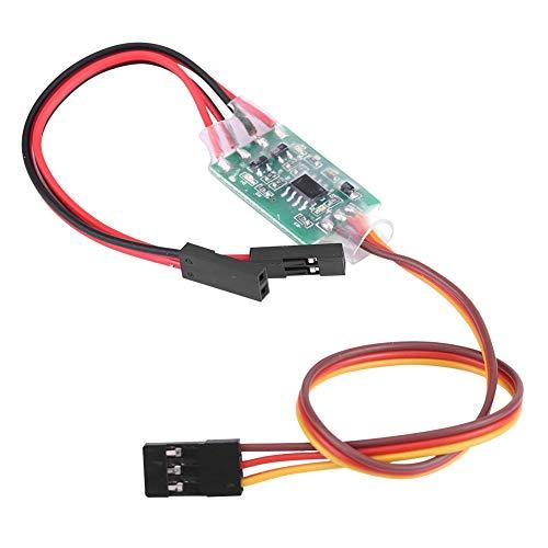 Jadpes Controle remoto de controle remoto controle de ignição, controle de fusível eletrônico 2 em 1, isqueiro de ignição para peças de aeronaves