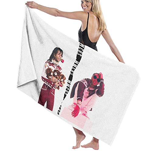 Bath Towel, RAE Sremmurd Music Band Toallas de baño Super Absorbent Beach Bathroom Towels for Gym Beach SWM SPA