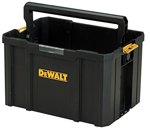 Dewalt TSTAK-Werkzeugtrage (belastbar bis 20 kg, Abmessungen 440 x 314 x 176 mm, klappbarer Handgriff) DWST1-71228