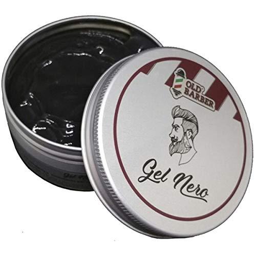 Old Barber Gel Nero Modellante e Colorante per capelli bianchi o grigi