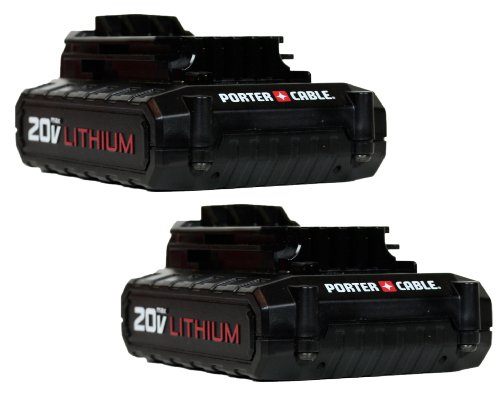 Porter Cable PCC681L 20V MAX Li-ion Battery 2-Pack in Retail Packaging