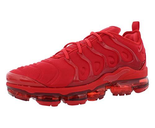 Nike Mens Air Vapormax Plus CW6973 600 Triple RED - Size 9.5