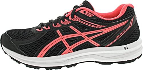 ASICS Gel-Braid - Zapatillas deportivas, color negro, Black Blazing Coral, 38 EU