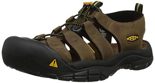 Keen 1001870 Men's Newport Sandals - Bison - 7.0\M