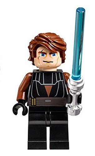 NEW LEGO ANAKIN SKYWALKERTM with LIGHTSABER MINIFIGURE 9515 7931 7669 by Pingan84