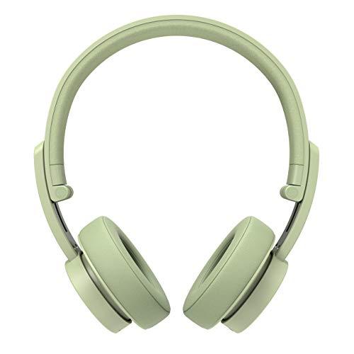 Urbanista Detroit On Ear-Bluetooth-Kopfhörer [HERAUSRAGENDER Klang MIT Stil], bis zu 12Stunden Wiedergabezeit, Telefonieren per Mikrofon - Spring Green