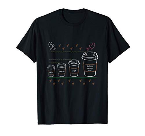 El divertido horario de verano de los cafeteros es el amante Camiseta