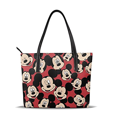 Mickey Mouse Minnie Handbags Shoulder Bags Shoulder Bags Handbags Travel and Leisure Learning Fashion Trends Handbags Large Capacity Solid and Durable