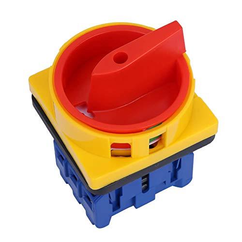 Interruptor de carga para motor fabricado en plástico, interruptor de alimentación de levas y encendido para controlar los circuitos principales