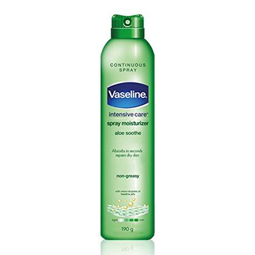 Vaseline Spray & Go Moisturizer, Aloe Fresh, 6.5 oz