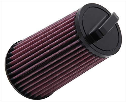 K&N E-2985 Waschbarer und wiederverwendbarer KFZ Tauschluftfilter
