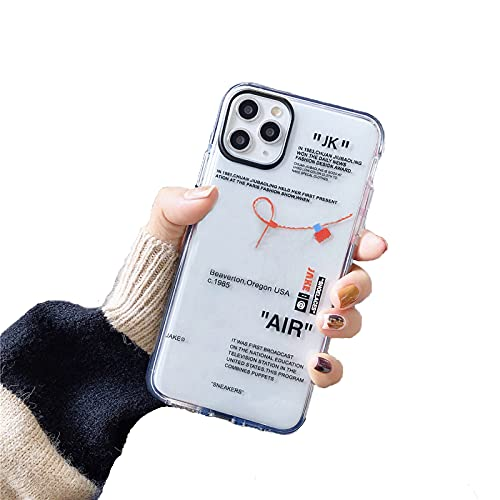 Hot Off Street Sport Trend Brand Custodia morbida in silicone per iPhone 11 Pro SE 2020 X XS MAX 7 8 plus ins White Label cover-B-per iphone XR