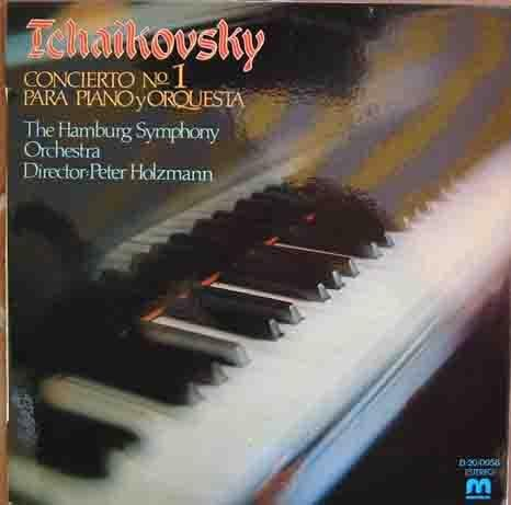 Disco Vinilo - Old vinyl .- TCHAIKOVSKY Concierto Nº 1 para piano y Orquesta The Hamburg Symphony, Orchestra, Director Peter Holzmann