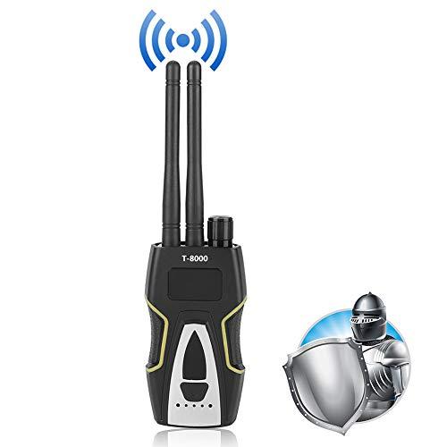 HF Signaldetektor GSM Audiosucher/Suchgerät Finder GPS Scan Detektor Silber T-8000 für versteckte Kamera und China Mobile, China Unicom, China Telecom, 2g, 3g, 4g Karten