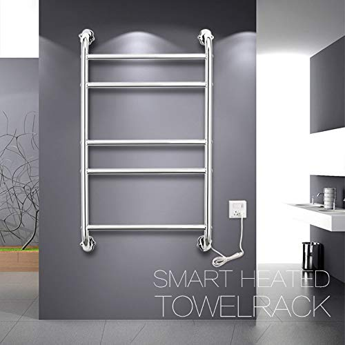 Lowest Prices! Towel Warmer Rack, Wall Mount Towel Warmer for Bathroom Polished Chrome Heated Towel ...