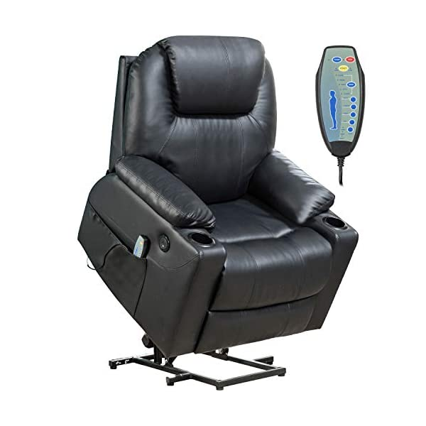 Lift Chair for Elderly Power Recliner Massage Chair Lift Chair Recliner Electric...