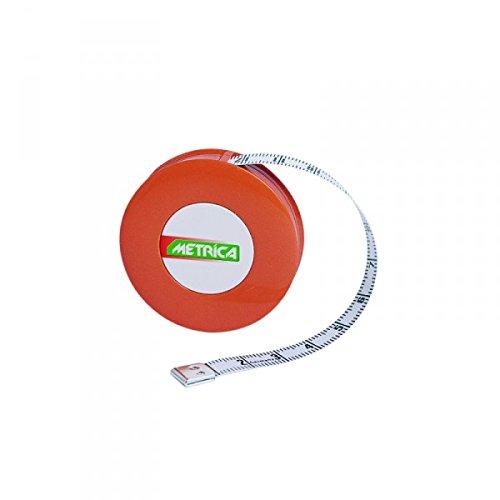 Metrica 22110 Mètre à ruban pour Couturier 1,5 m Orange