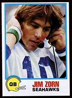 jim zorn football cards