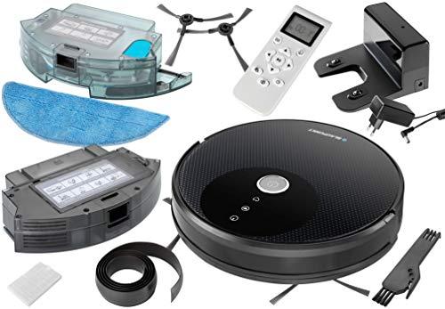 Blaupunkt XBOOST Saugroboter mit Turbo-Saugfunktion - Roboterstaubsauger für Tierharen - Staubsauger Roboter mit Bereichsabgrenzung und Anti Allergien - 6
