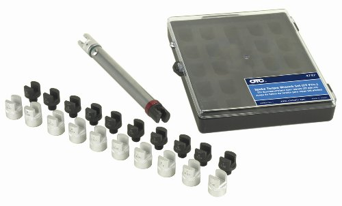 OTC 4747 22-Piece Spoke Torque Wrench Set