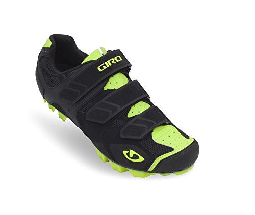Giro Carbide MTB Fahrrad Schuhe schwarz/gelb 2015: Größe: 47