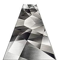 廊下敷きカーペット 男の子の寝室のための現代的な幾何学ランナーの敷物、汚れ/退色に強いモダンな厚手のソフトカーペット、廊下玄関リビングダイニング、マルチサイズ (Size : 0.8×7m(3×23 ft))