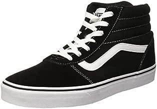 Vans Women's Hi-Top Trainers, Black ((Suede/Canvas) Black/White Iju), 4.5 UK