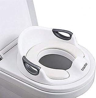 comprar comparacion Asiento de inodoro para niños, Reductor de WC para Bebé, Tapa WC con reposabrazos, redondos y ovalados