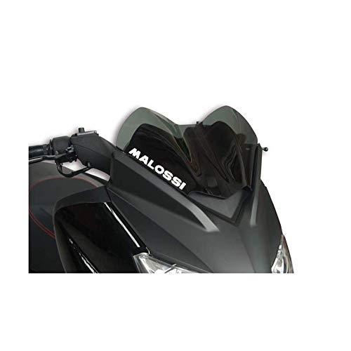 MALOSSI - Bulle Type Sport Fumée Compatible Yamaha X-Max 125/250 09-13 / Compatible MBK 125 Skycruiser 09-13