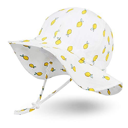 Ami & Li Tots Baby Sonnenhut Junge Mädchen Kinder verstellbare breite Krempe Sonnenschutz Sonnenhut Kleinkind SäUgling SonnenmüTz Baby Hut