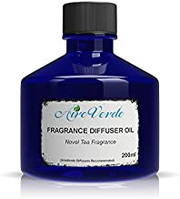 Novel Tea Fragrance Oil for Aroma Oil Scent Diffusers, Oil Diffuser Essential Oils for Diffusers for Home and Commercial Use, Refill for Scented Essential Oil Diffuser (200ml)