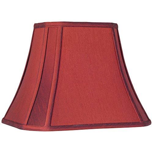 Crimson Red Cut-Corner Medium Lamp Shade 8