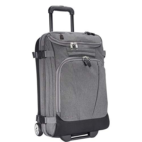 eBags TLS Mother Lode Mini 21' Wheeled Carry-On Duffel with USB Port (Heathered