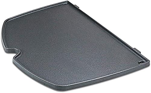 Denmay 6559 38,86 x 27,43 cm Grillteile Gusseisen-Kochfeld für Weber Gasgrills der Serien Q200, Q220, Q240, Q260, Q2000, Q2200, Q2400