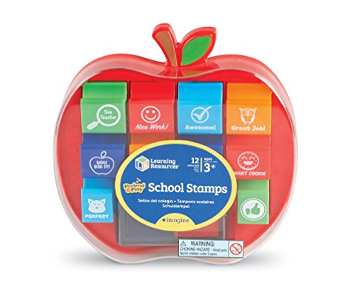 Learning Resources School Stamps, Set of 10