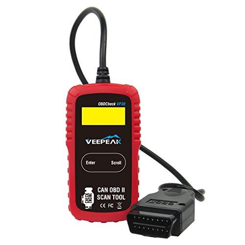 Veepeak OBD2 Scanner OBDCheck VP30 Automotive OBD II Diagnostic Code Reader, Read Engine Trouble...