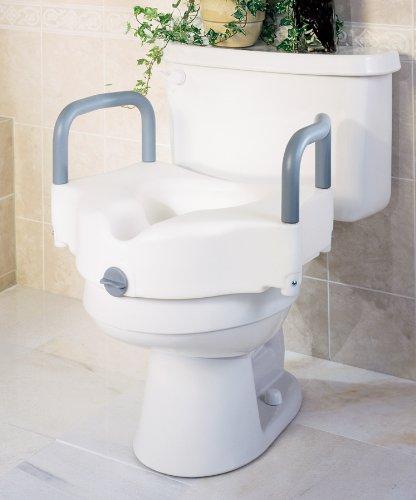 moen raised toilet seats Medline Locking Raised Toilet Seats with Arms