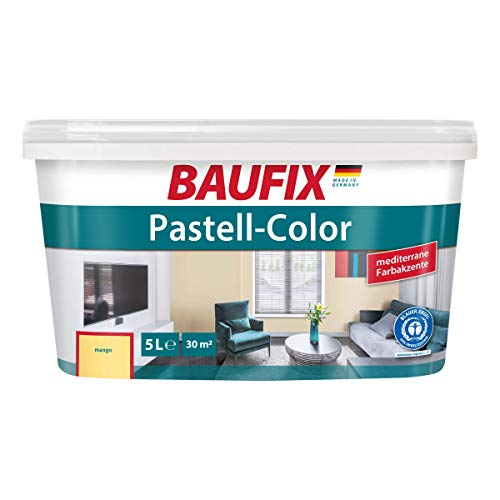 BAUFIX Pastell-Color Wand- & Deckenfarbe Mango