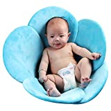 Kidoll Newborn Baby Boys Girls Foldable Soft Flower Petal Shape Bathtub Pad Infant Shower Support...