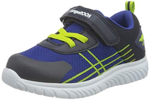 KangaROOS KI-Twee EV Sneaker, Dark Navy/Lime 4054, 24 EU