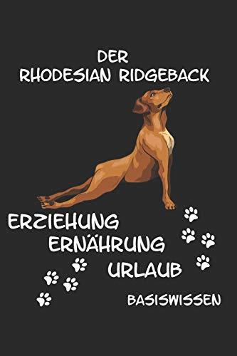 Rhodesian Ridgeback Erziehung Ernährung Urlaub Basiswissen: Informativer Ratgeber für den Start eines Rhodesian Ridgebacks Welpe Krankheiten Futter Hundebesitzer Hunderasse