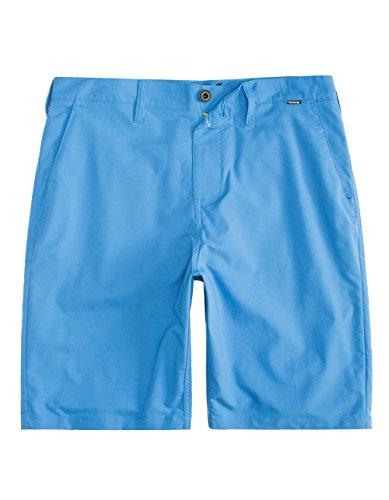 Hurley Men's Dri-FIT Chino Walkshorts Fountain Blue Swimsuit Bottoms