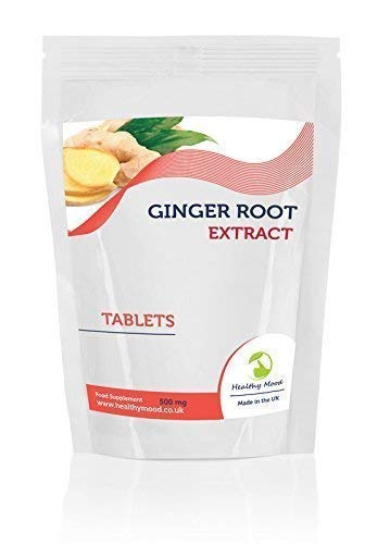 Ginger Root Herb Extract 1000Mg 7 Sampe Pack Tablets Pills Quality Products Nutrition Health Food Supplements HEALTHY MOOD UK Quality Nutrients